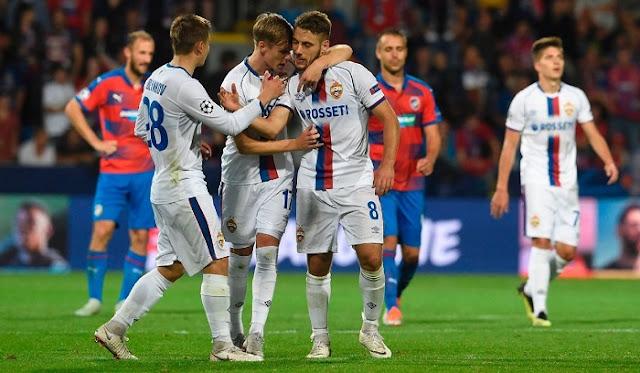 Hasil Liga Champions Malam Ini: CSKA Moscow Kalah Dari Viktoria Plzen