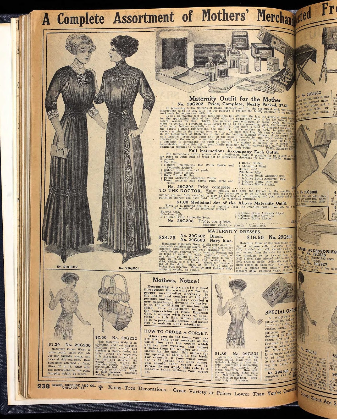 11 bizarre and unbelievable items sold by sears vintage everyday in addition to impossibly small waisted maternity dresses the fall 1911 catalog also offered other maternity supplies because of the reluctance of many to ombrellifo Choice Image