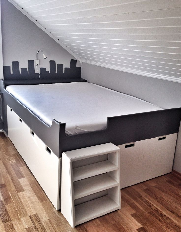 DIY Inspirations Storage Bunk Bed Designs With Raised ...