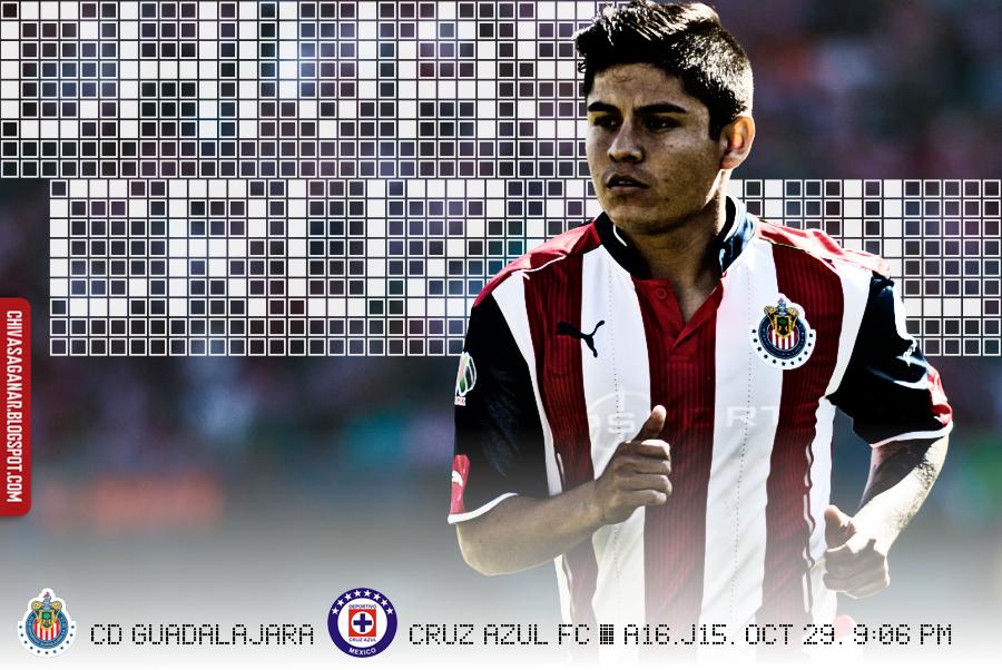 Liga MX : CD Guadalajara vs Cruz Azul FC - Apertura 2016 - Jornada 15.