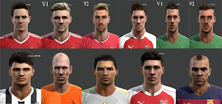 Mix Facepack Pes 2013 by H.F.T