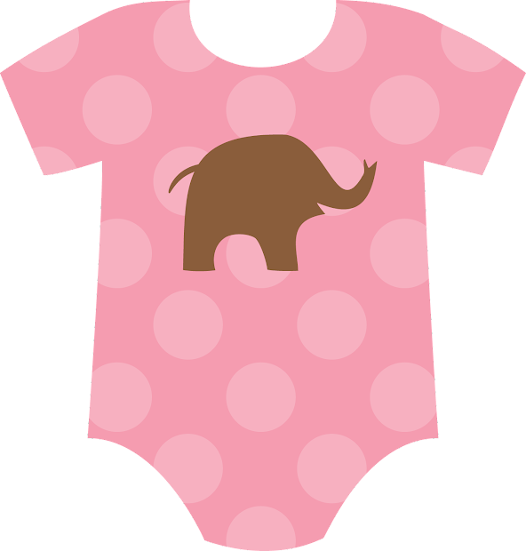 Baby Girl Onesie Clip Art Free