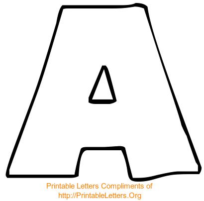 Mixer: Printable Alphabets