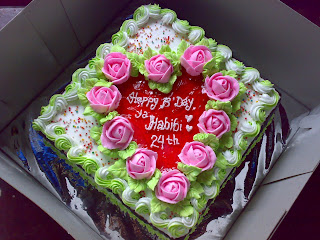 delivery cake di kota padang