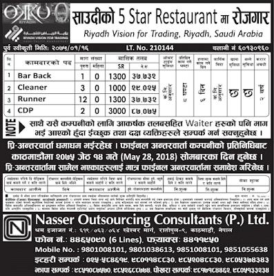 Nasser Outsourcing Consultants Pvt. Ltd. jagiredai