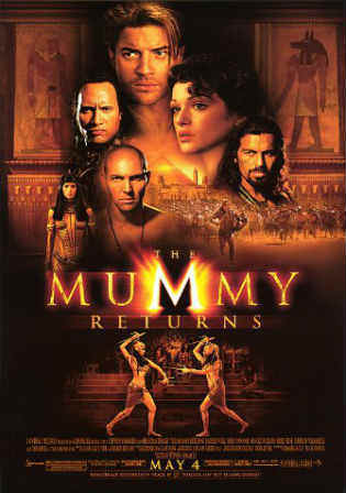 The Mummy Returns 2001 BRRip 400MB Hindi Dual Audio 480p Watch Online Full Movie Download bolly4u