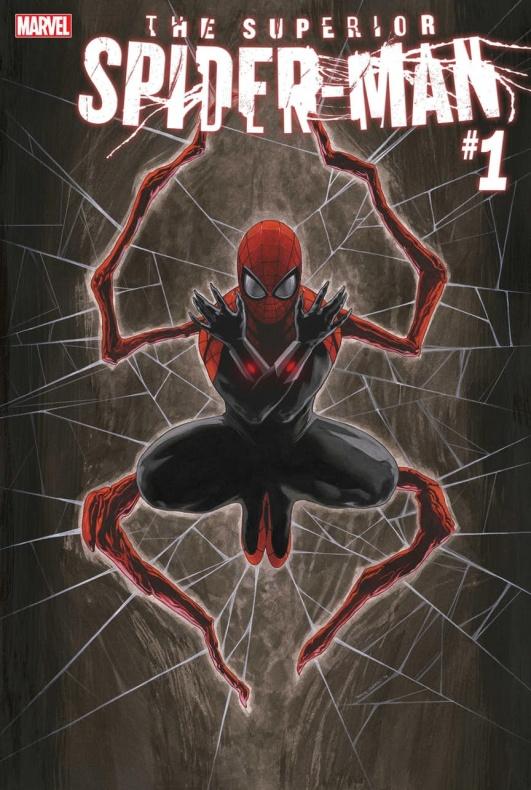 The Superior Spider-Man núm 1, nueva serie protagonizaa por Otto Octavius (aka Doctor Octopus) escrita por Christos Gage con arte de Mike Hawthorne, Wade Von Grawbadger y Jordie Bellaire.