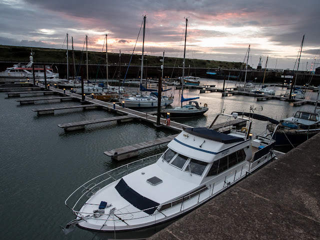 Photo of Ravensdale at sunset in Maryport Marina