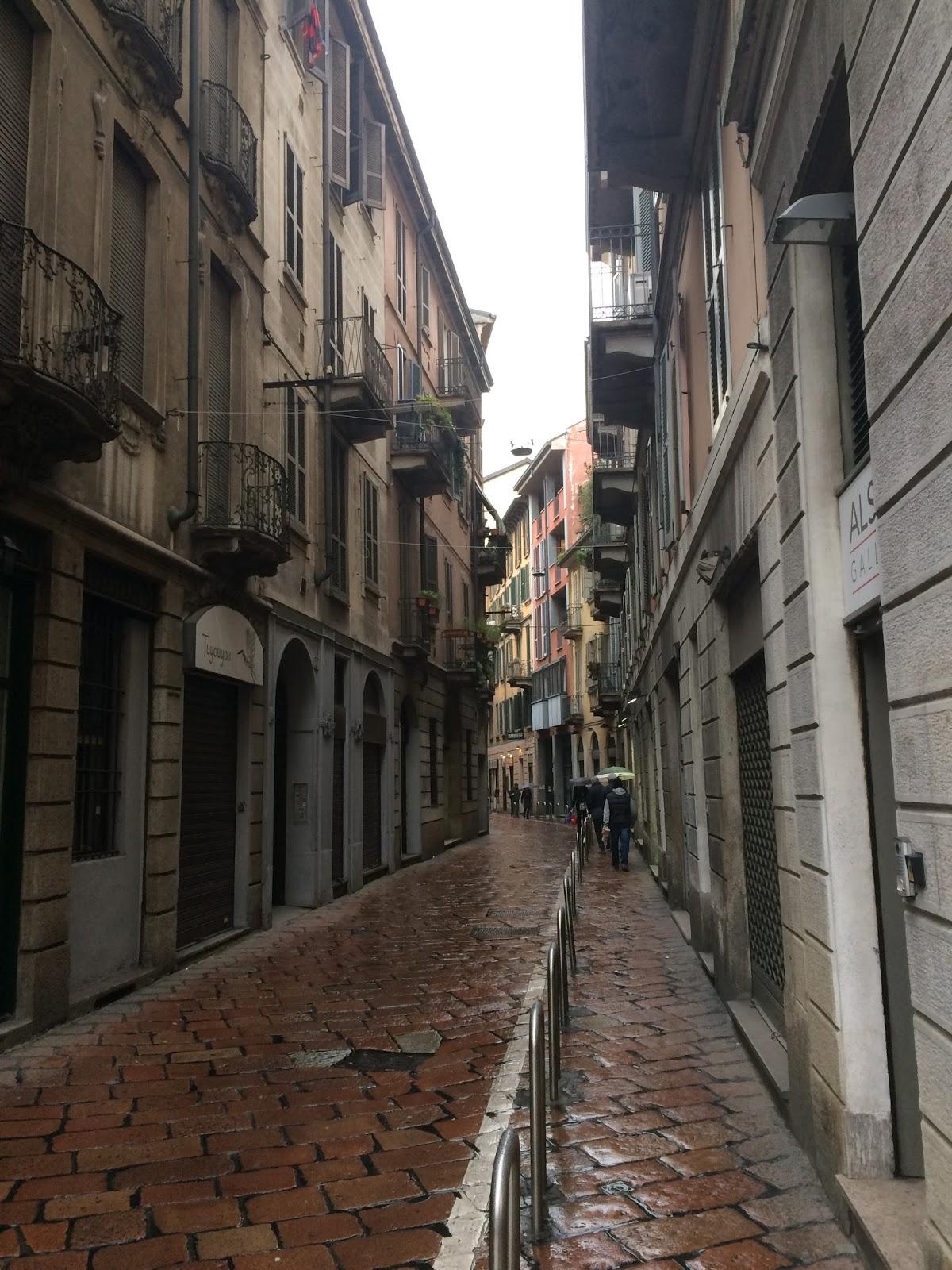 Via San Maurilio Milano el nost milan: la vecchia milano: via bagnera e le cinque vie