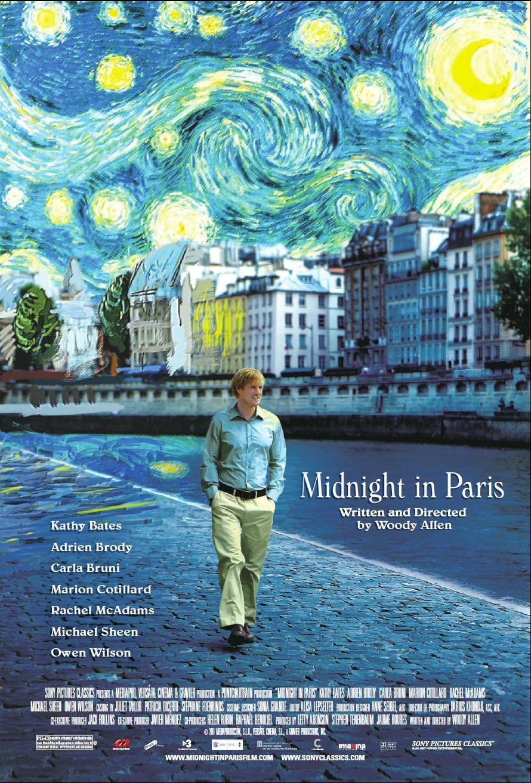 o północy w paryżu film rezenzja woody allen