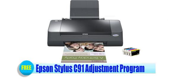 Epson Stylus C91Adjustment Program