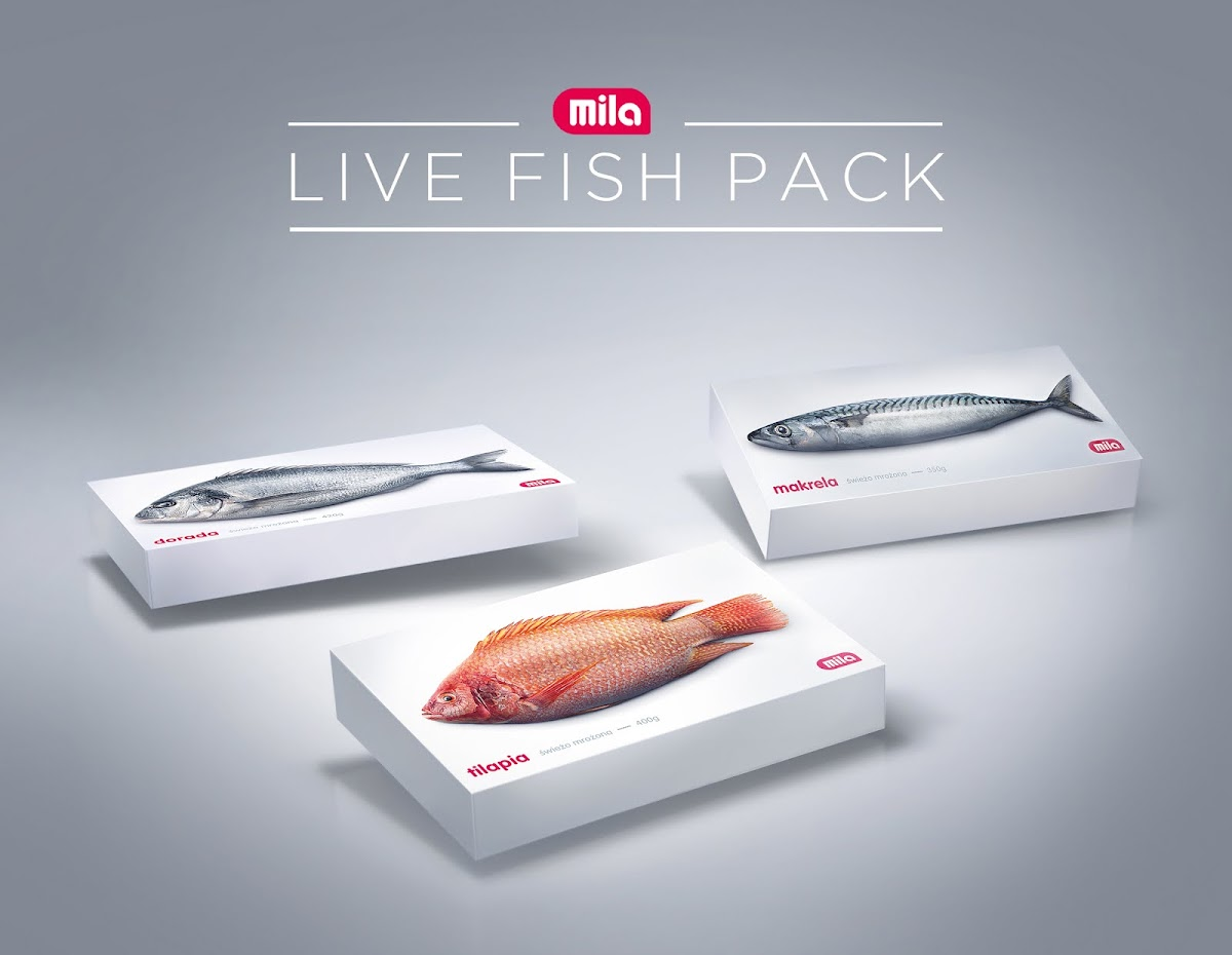 The Live Fish Pack Activation For Supermarket Chain Mila, via Y&R Poland