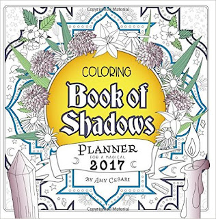 Coloring Book Of Shadows: Planner For A Magical 2017 PDF