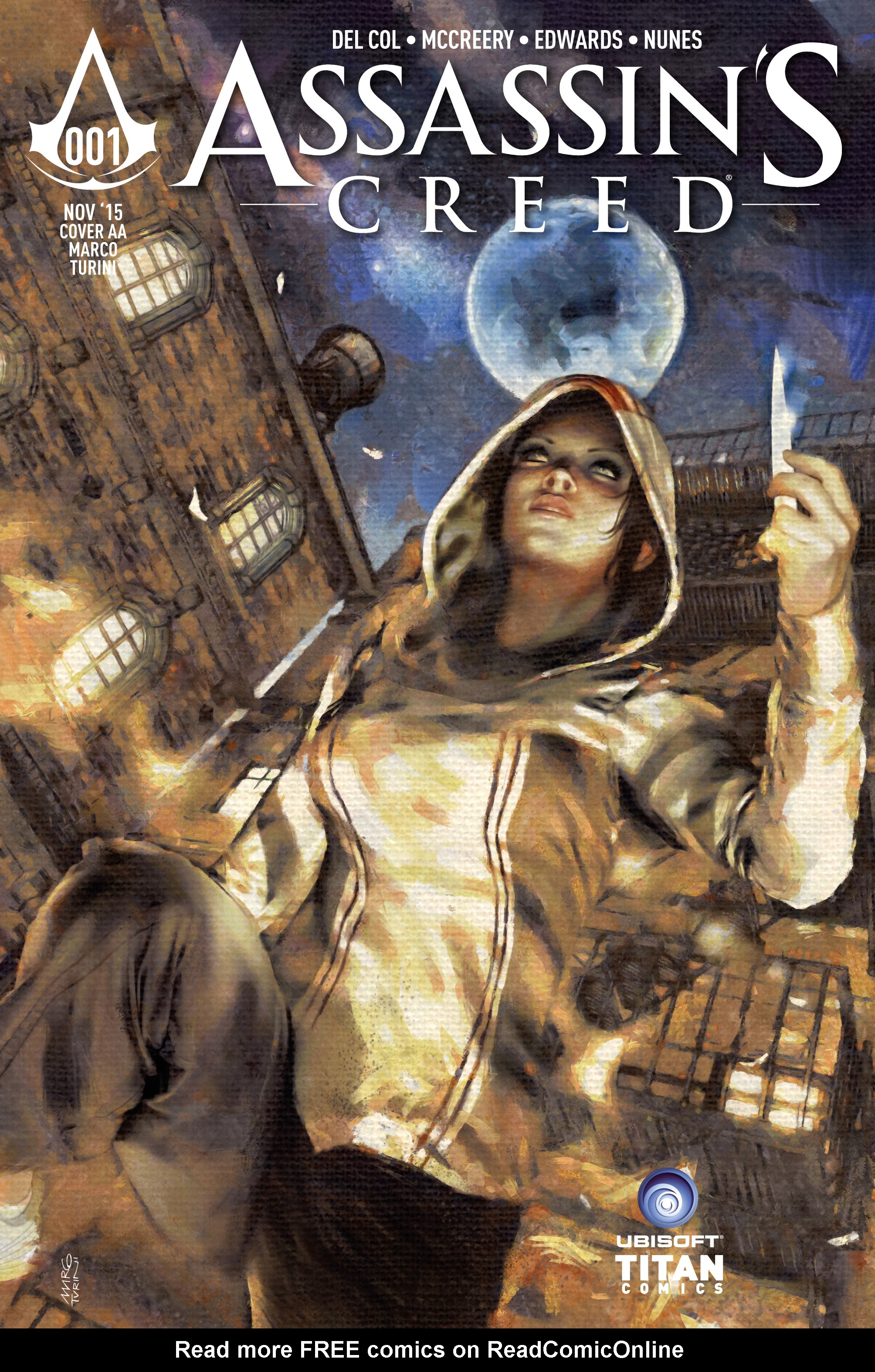 Read online Assassin's Creed (2015) comic -  Issue #1 - 1