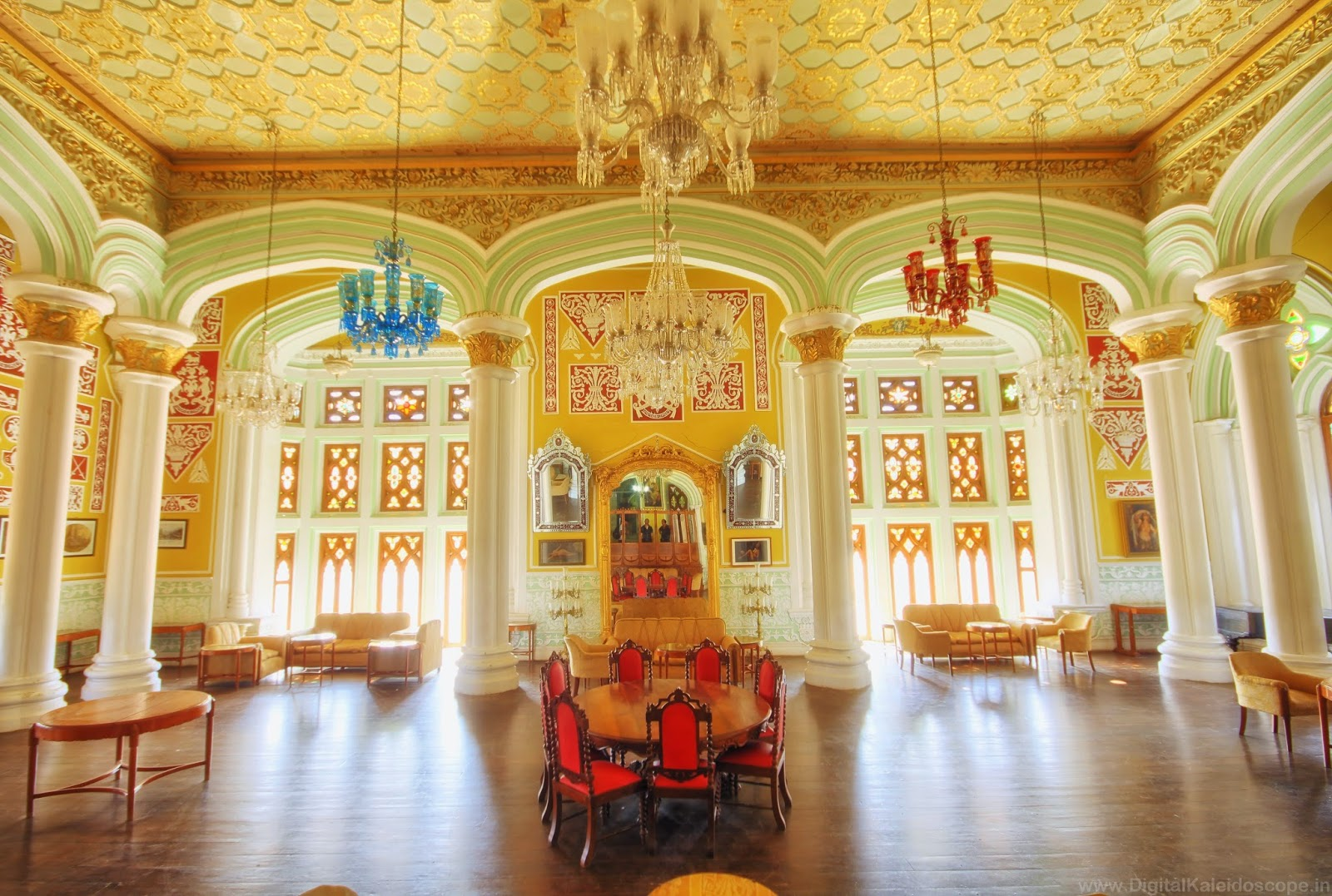 inside Bangalore palace