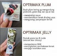 Paket PRAKTIS Plum Optrimax 10 PLUM + 10 JELLY Optrimax Plum Delite