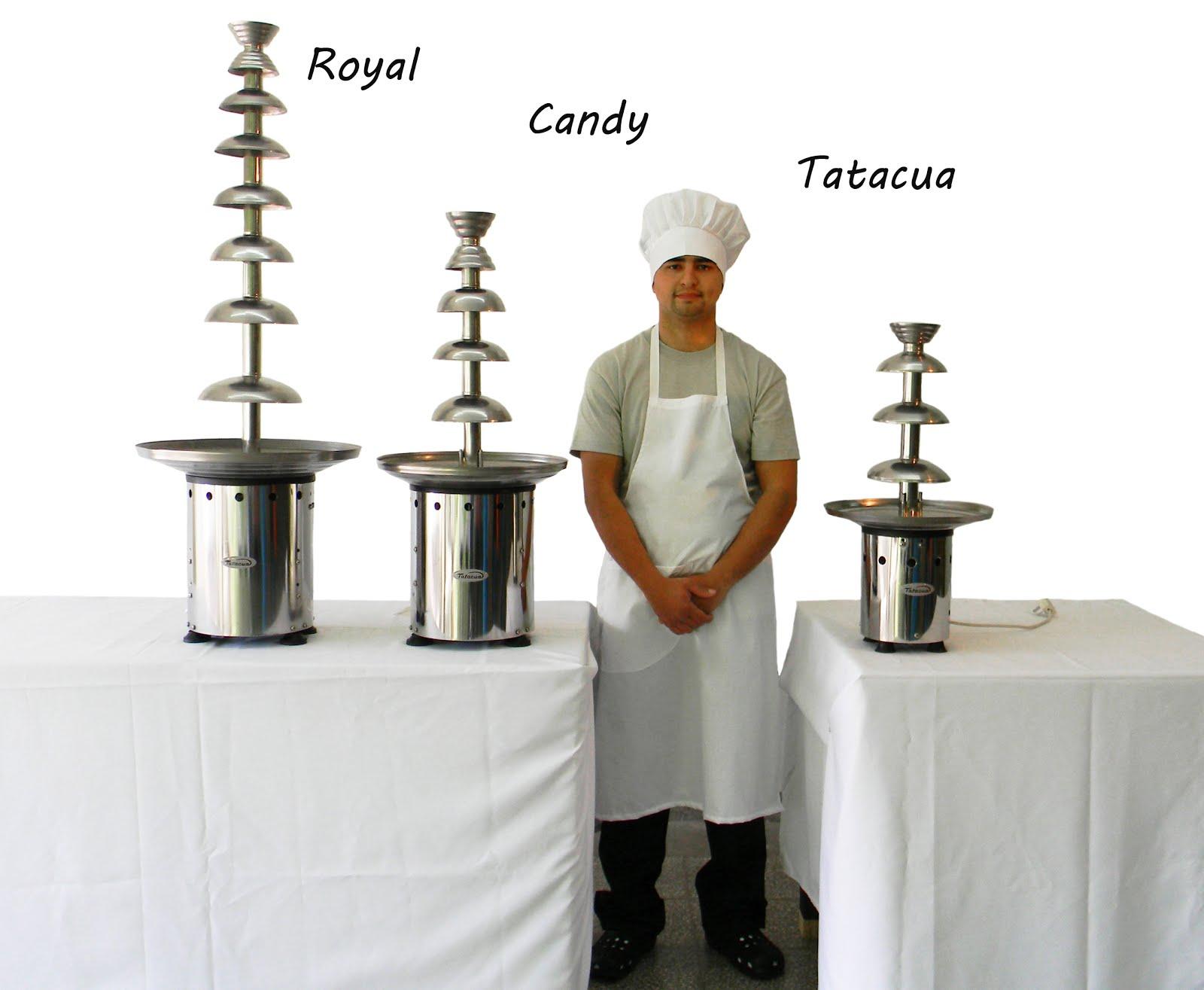 Cascada de chocolate fuentes de chocolate 3 modelos