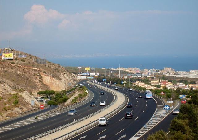 Costa del Sol Benalmadena - Fuengirola autostrada