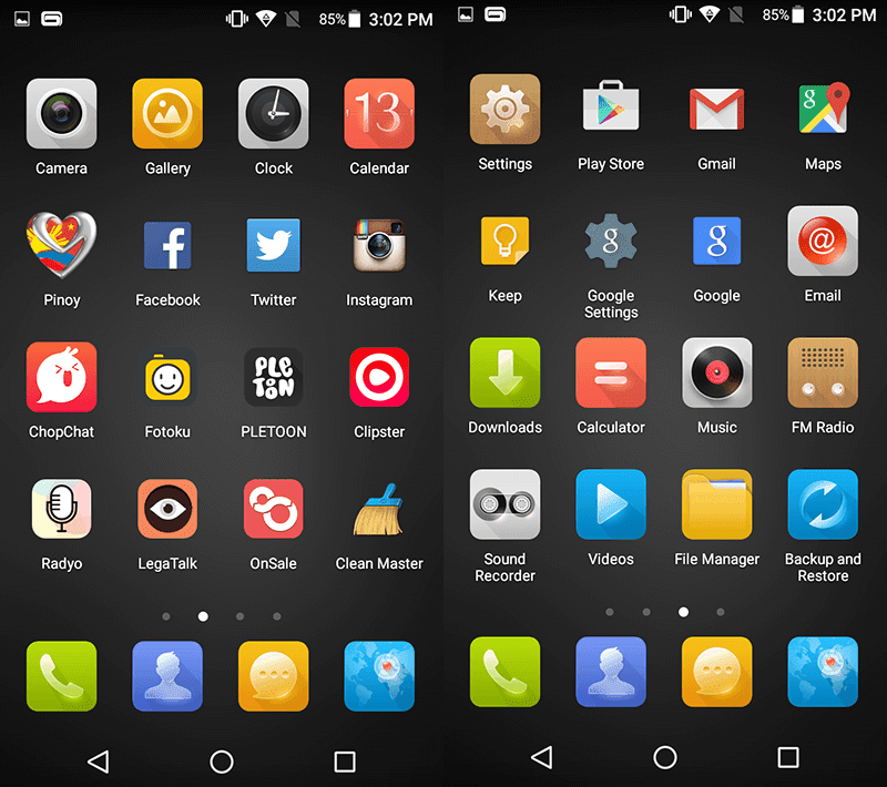 MyUI without app drawer