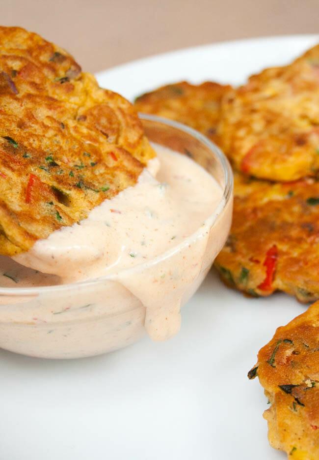 Vegan Vegetable Fritters
