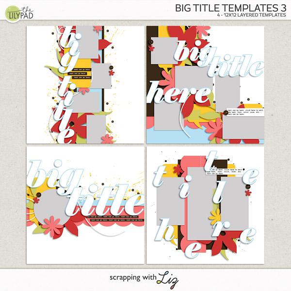 Take Me To Big Title Templates 3