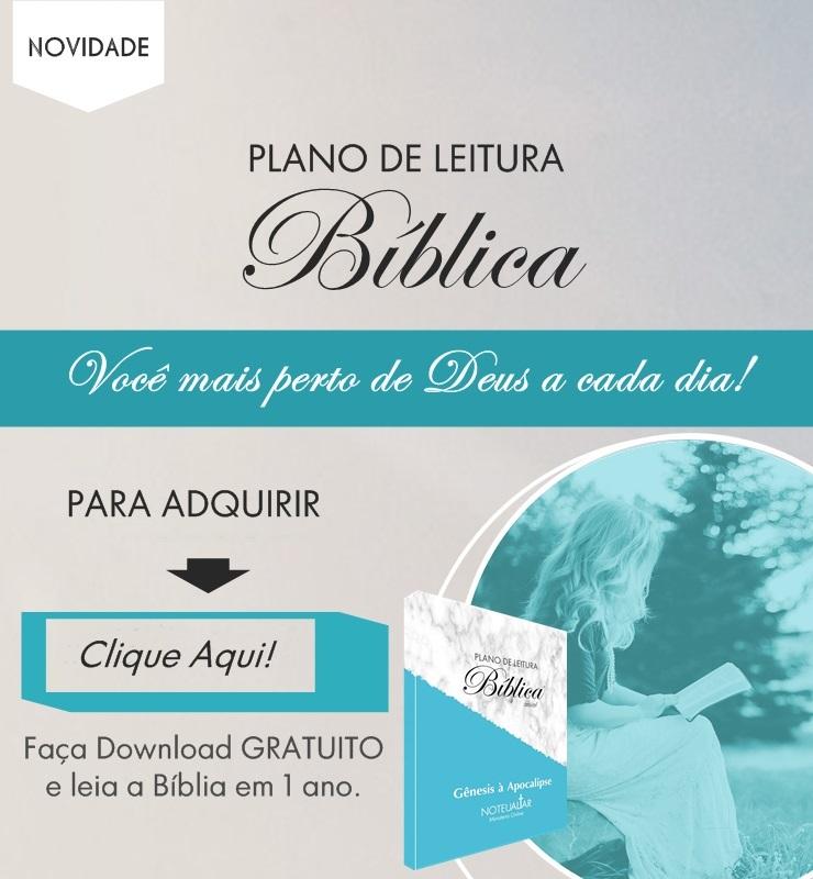 Baixar Plano de leitura Biblica personalizada no teu altar