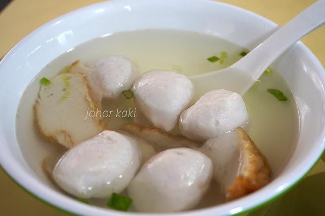 Ru Ji Kitchen Handmade Fish Ball in Singapore 如记小厨