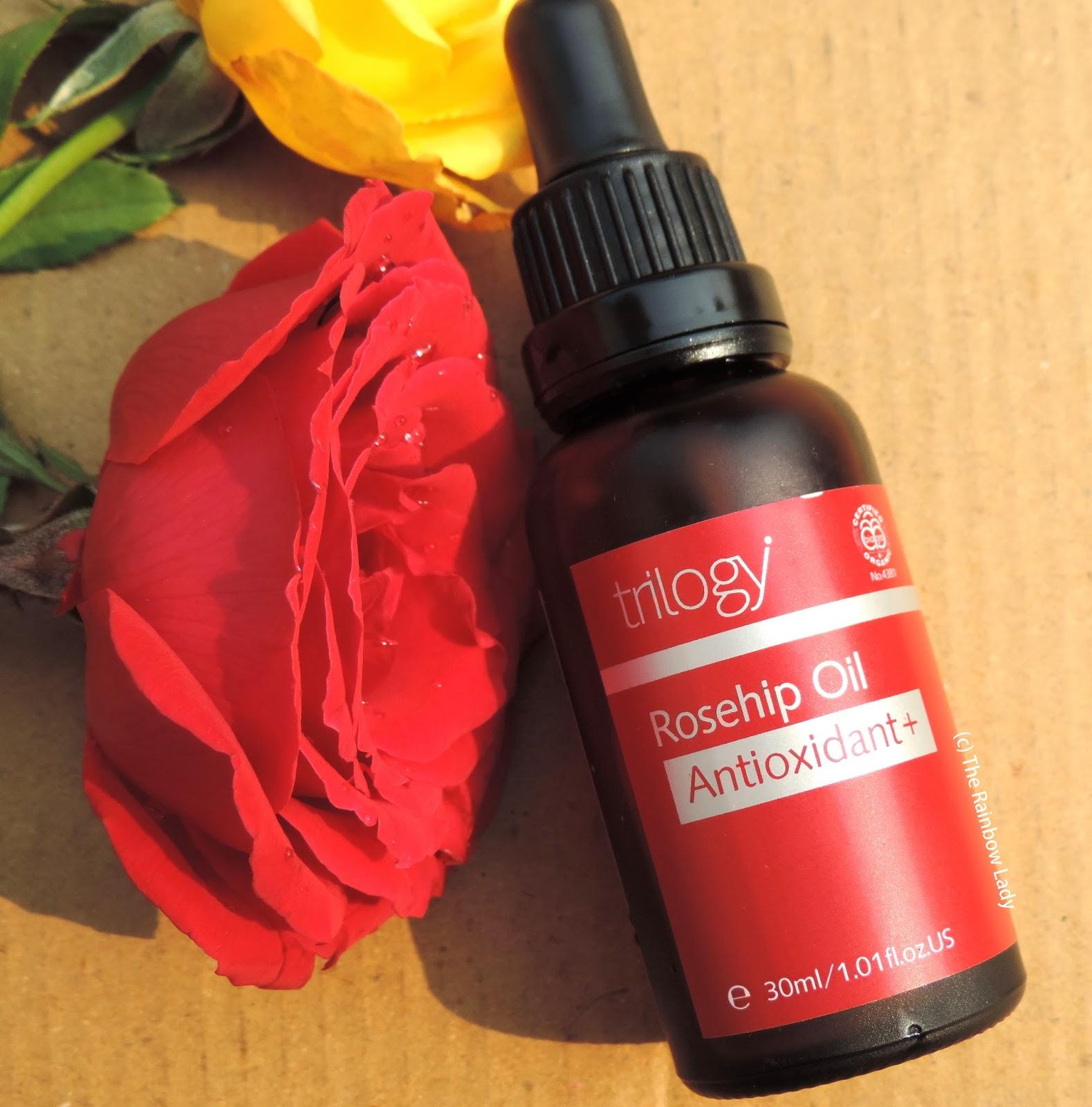 Trilogy Rosehip Antioxidant Facial Oil Review The Rainbow Lady Blog
