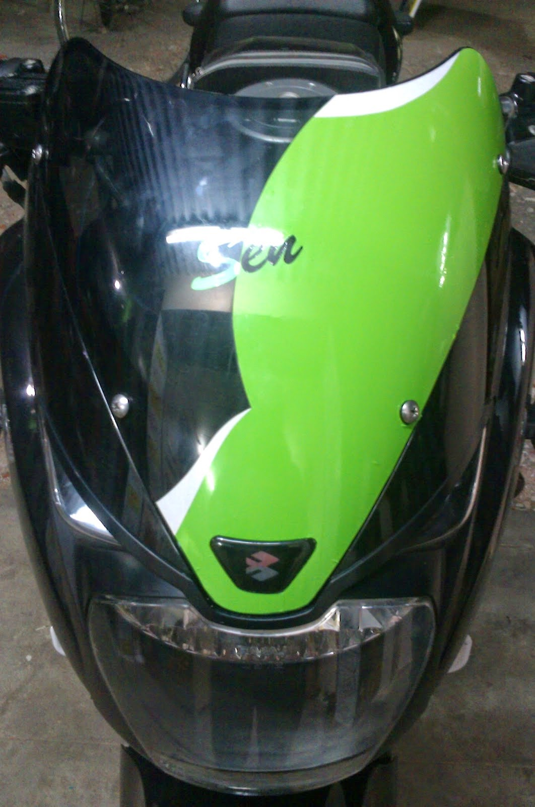 Bike stickers design online india - Bike Visor Stickers Design Raja Stickers Salem Mettur Dam 1 Tamil Nadu India