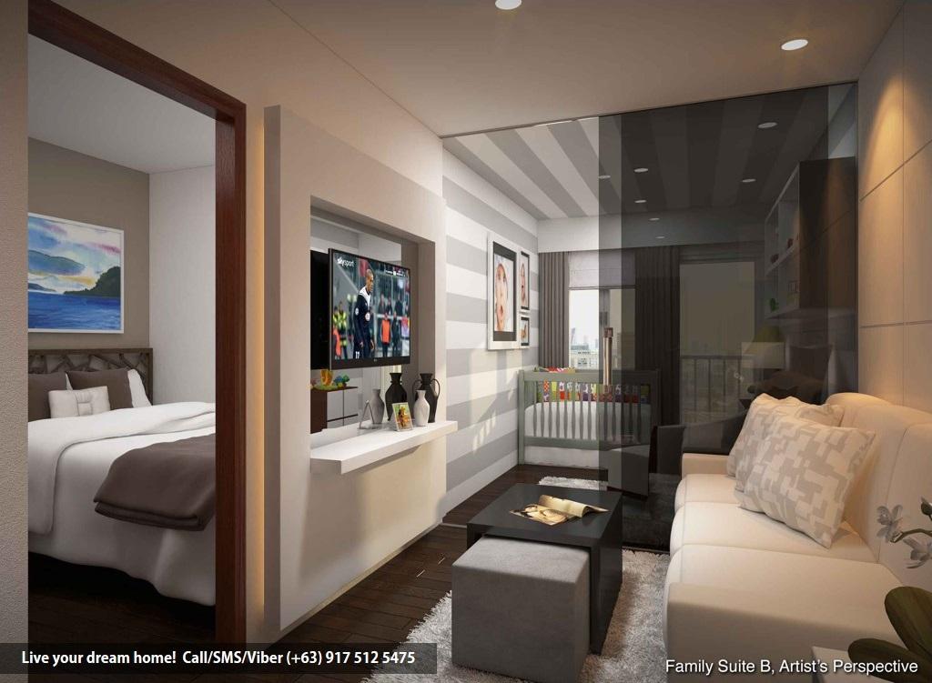 SMDC Spring Residences - Family Suite B With Balcony | Condominium for Sale Bicutan Paranaque
