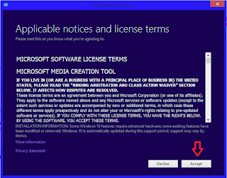 Aplicable notices and license terms