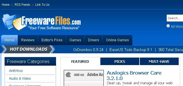 Freeware Files - Solo Nuevas