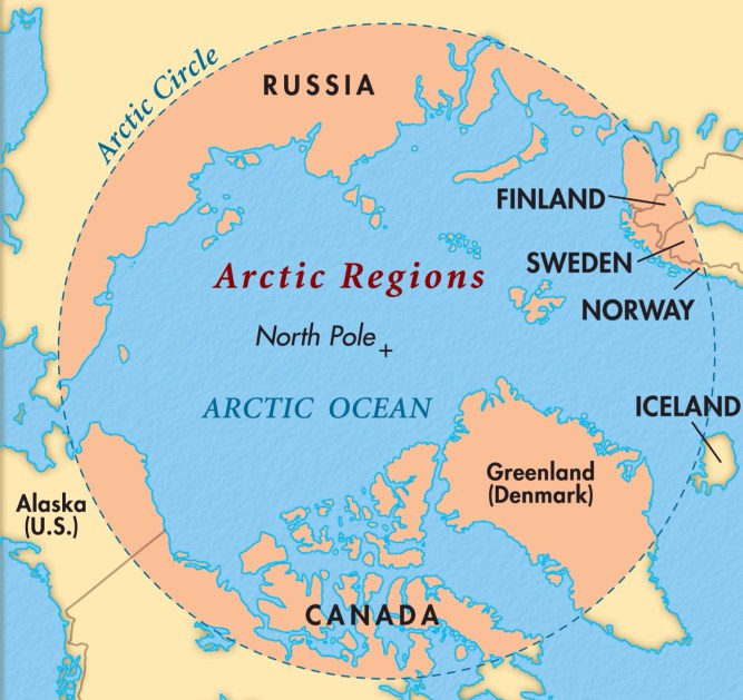 Christophers Expat Adventure Off To The Arctic Circle - Iceland latitude