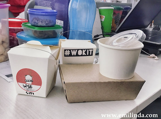 Lunch Delivery dari Wok It.
