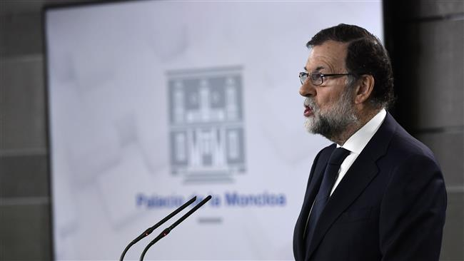 Spanish Prime Minister Mariano Rajoy urges Catalonia to end 'disobedience' for independence