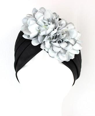 OI 1718 - Coleccion Negro Plata 05 turbante