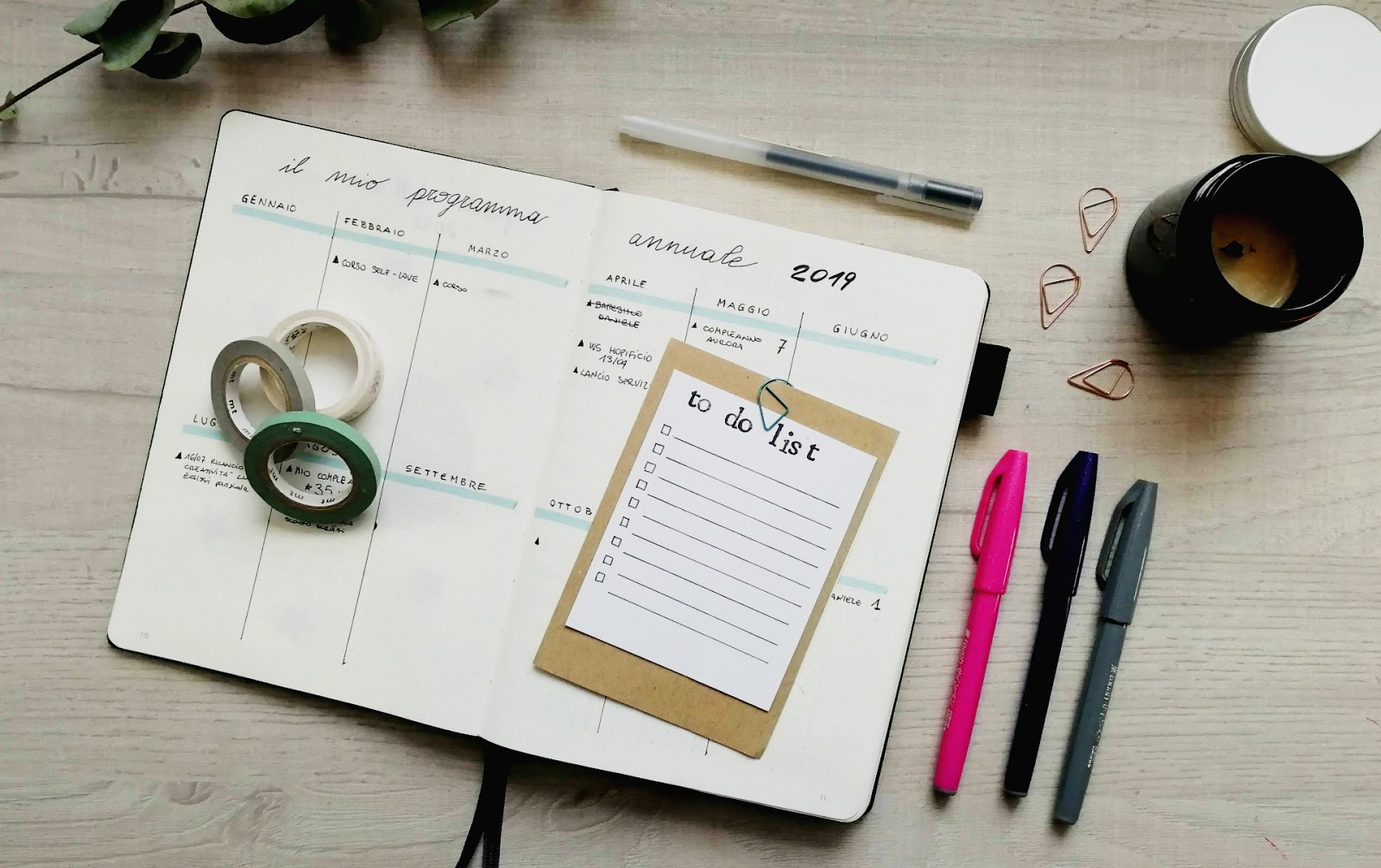 I principi base del Bullet Journal