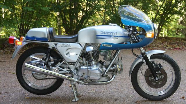 Ducati 900SS 1970s Italian classic motorcycle
