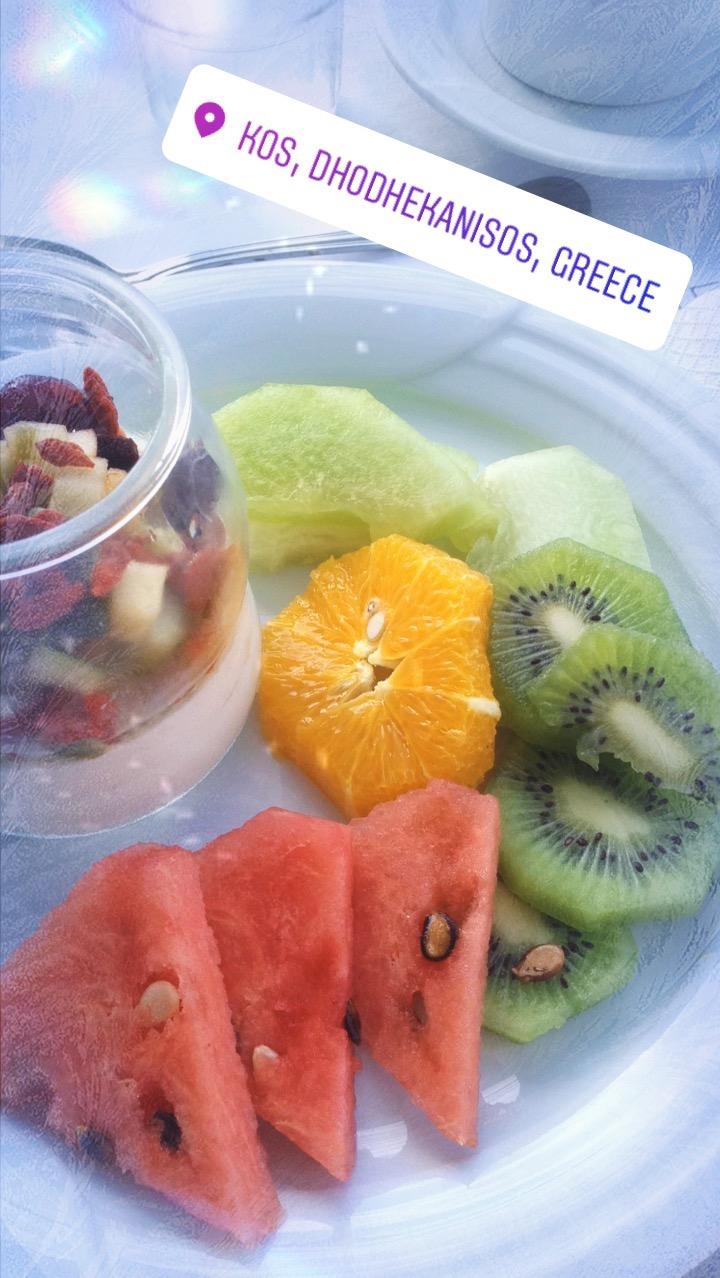 Fitness-Frühstück mit Super-Food auf Kos, Griechenland, Diamond Deluxe Hotel