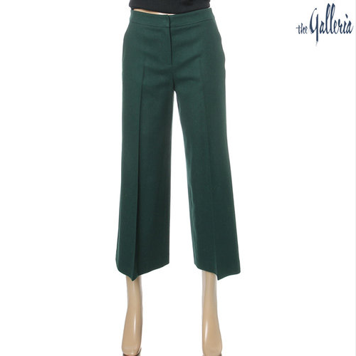 Brushed Wool Wide Pants