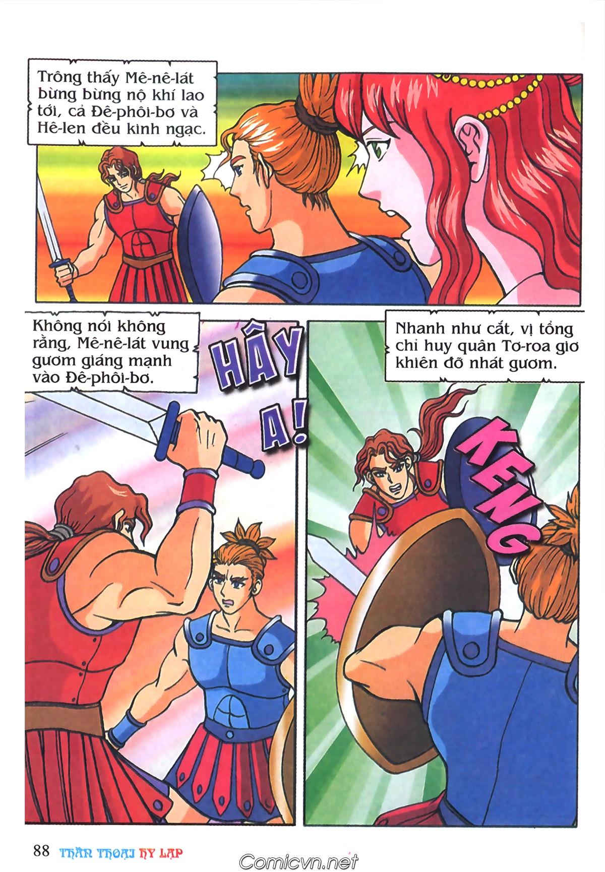 Thần Thoại Hy Lạp Màu - Chapter 69: Thành Troy thất thủ - Pic 18