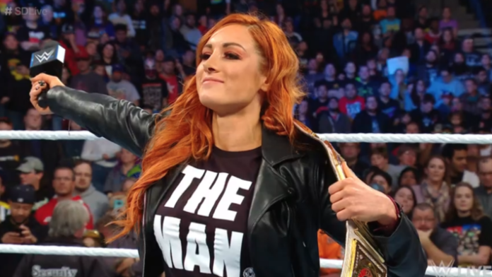 Becky Lynch 'THE MAN' shirt. PYGOD.COM