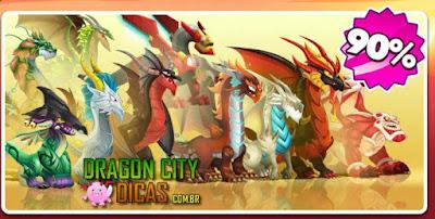 Desconto de Dragões Lendários - Happy Hour!