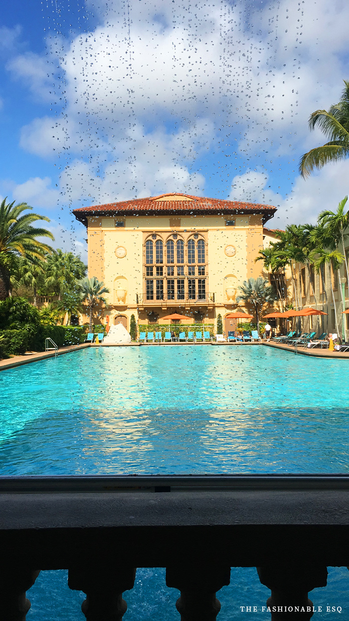 Pre-Natal spa review at the Biltmore Hotel in Miami
