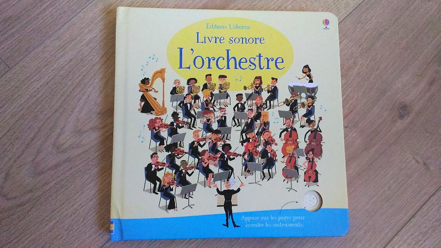 Livre sonore l'orchestre - éditions Usborne