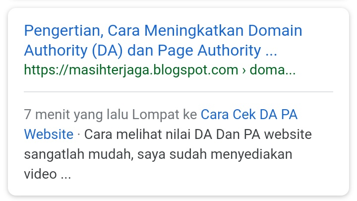 Cara Memasang Table  of Content di Blogger