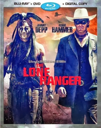 The Lone Ranger 2013 Dual Audio Hindi 450MB BluRay 480p