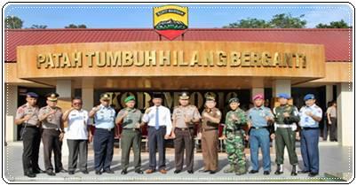 Meningkatkan Sinergitas dan Soliditas TNI - Polri dan Komponen Bangsa Kota Batam