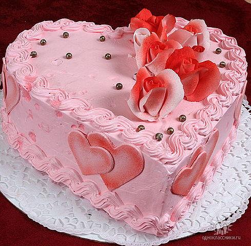 Торт к празднику.