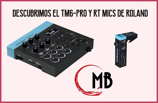 MASSBATERIA-TM6-PRO Y RT MICS DE ROLAND